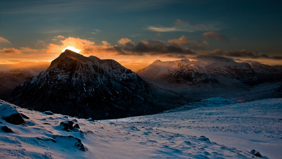 Buachaille Etive Mor and Glencoe