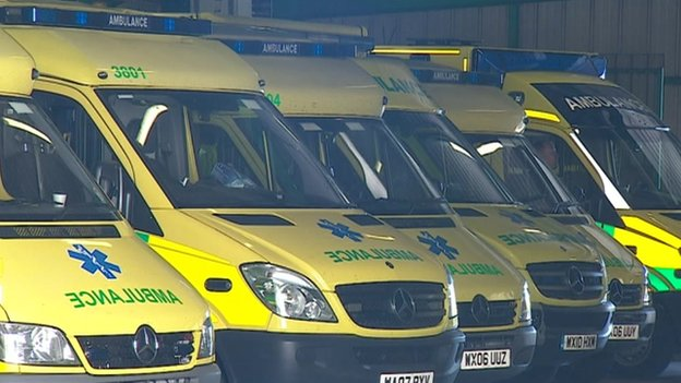 South West Ambulance staff call for trust boss to resign