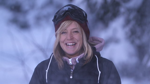 Jenny Jones on Ski Sunday