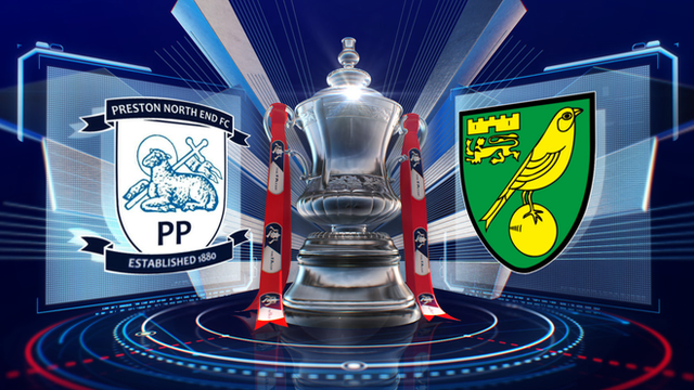 League One Preston North End upset Championship side Norwich City 2-0 in the third round of the FA Cup