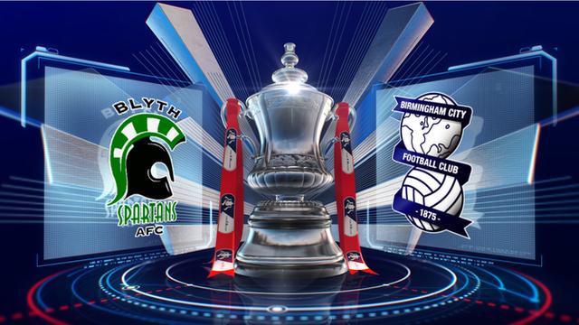 Blyth Spartans 2-3 Birmingham City highlights