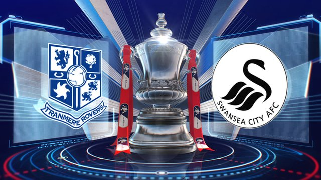 Tranmere 2-6 Swansea highlights