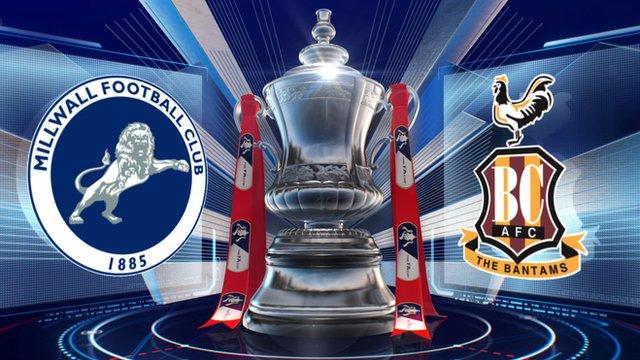 Millwall 3-3 Bradford