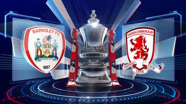 FA Cup: Barnsley 0-2 Middlesbrough highlights