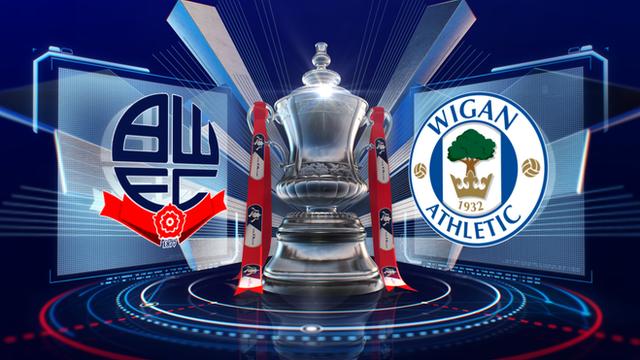 FA Cup: Bolton 1-0 Wigan highlights