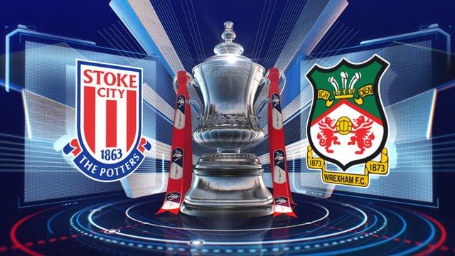 Stoke 3-1 Wrexham highlights