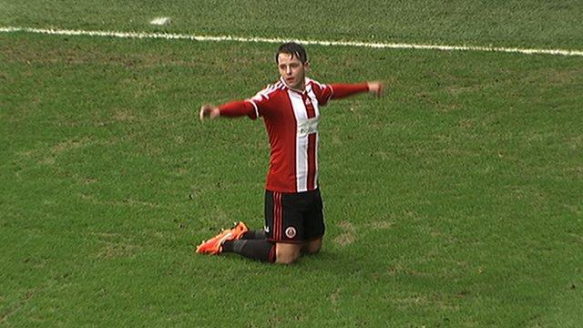 Sheffield United forward Marc McNulty