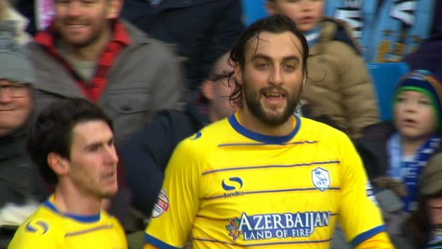 Atdhe Nuhiu scores for Sheffield Wednesday