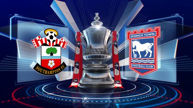 FA Cup: Southampton 1-1 Ipswich highlights