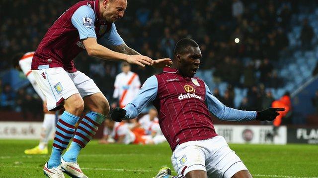 FA Cup: Aston Villa 1 (Christian Benteke 87') Blackpool 0
