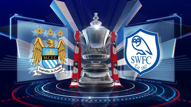 FA Cup: Man City 2-1 Sheff Wed highlights