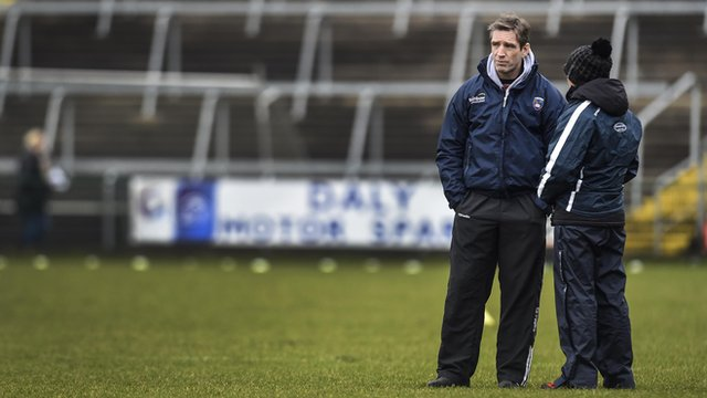 Kieran McGeeney took charge of Armagh for the first time against Tyrone