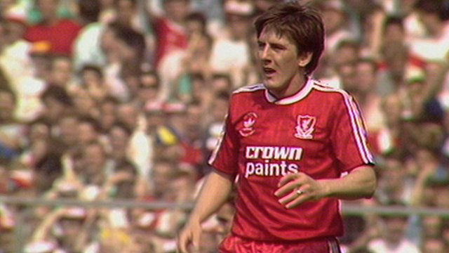 Liverpool's Peter Beardsley