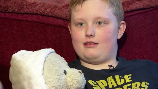 Autism sufferer Jack Parcell