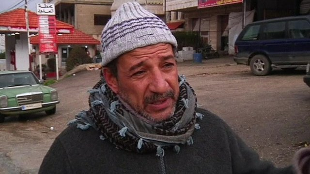 Syrian refugee from Damascus