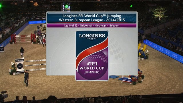 Equestrian: FEI World Cup jumping highlights