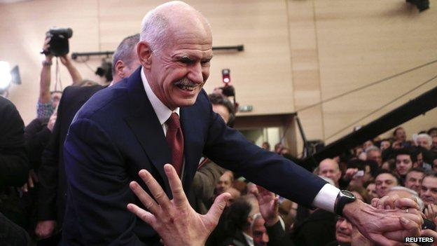Ex-PM George Papandreou