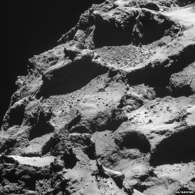67P surface