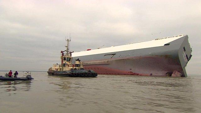 Hoegh Osaka cargo ship