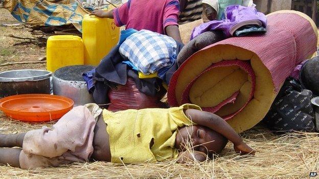 Refugees in Burundian province of Cibitoke