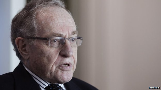 Lawyer and law professor Alan Dershowitz