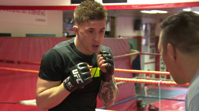 Mixed martial arts fighter Norman Parke