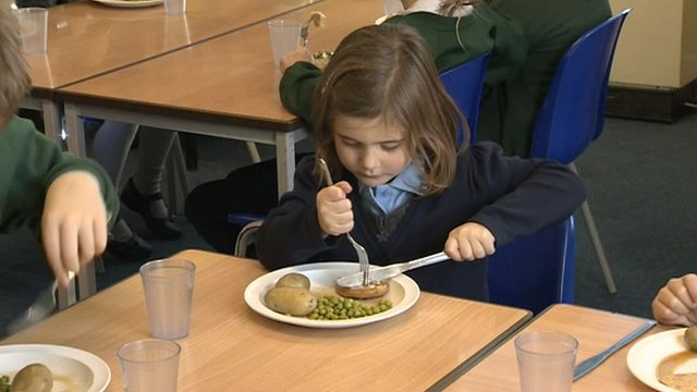 Pupil at Middlezoy Primary School in Somerset