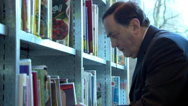 Stephen Instead in Birmingham Library