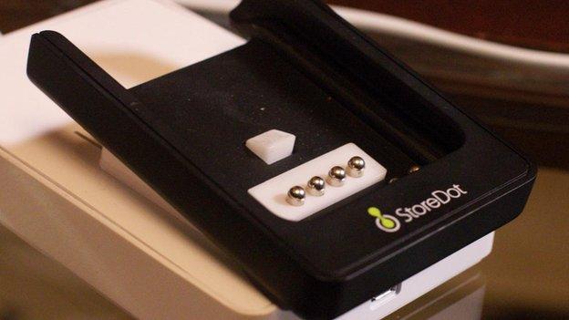 Storedot charger