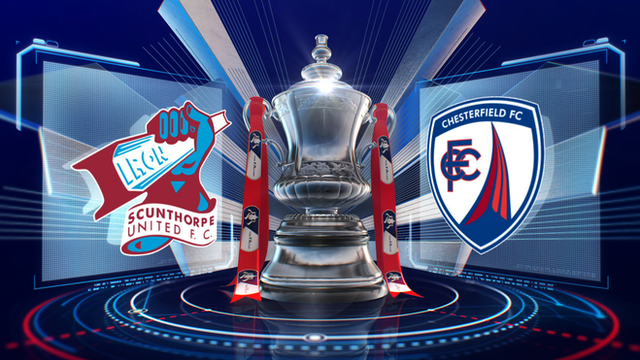FA Cup: Scunthorpe 2-2 Chesterfield