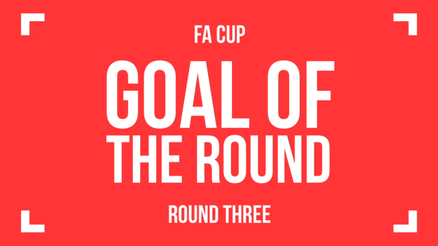 FA Cup: Goals of the third round