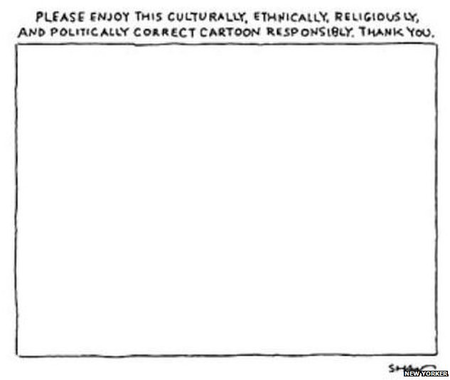 Cartoon featured in the New Yorker in 2012