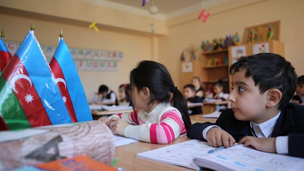 Azeri children in school