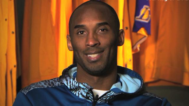 NBA star Kobe Bryant