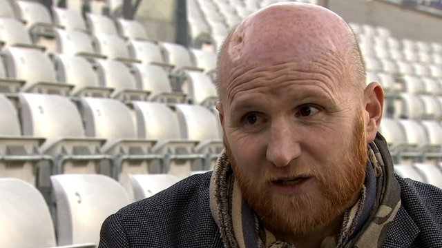 Former professional footballer John Hartson