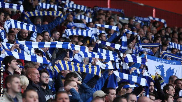 Some Cardiff City fans maintained a long campaign to revert back to the club's traditional home colours