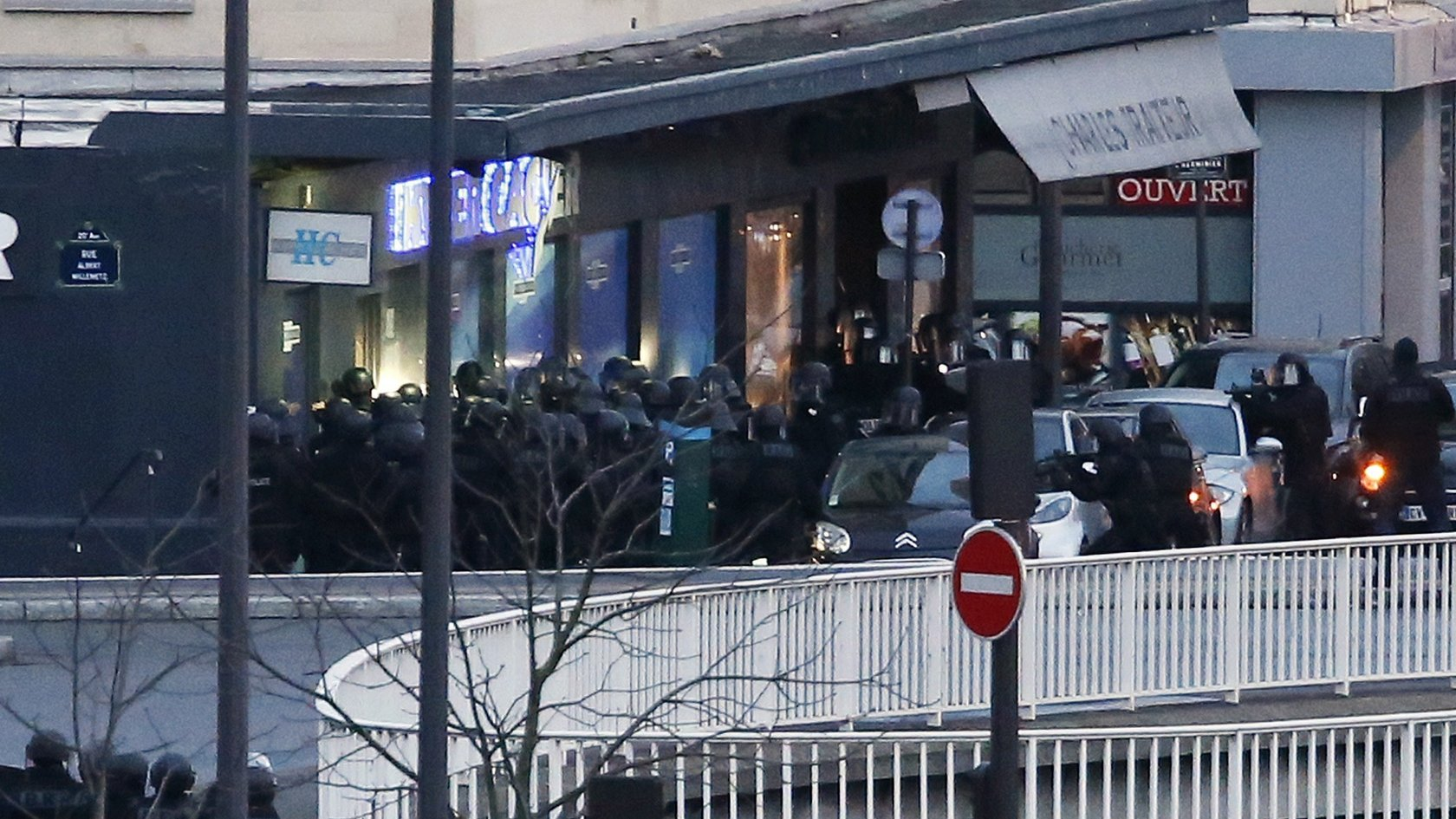 As It Happened France Sieges End Bbc News