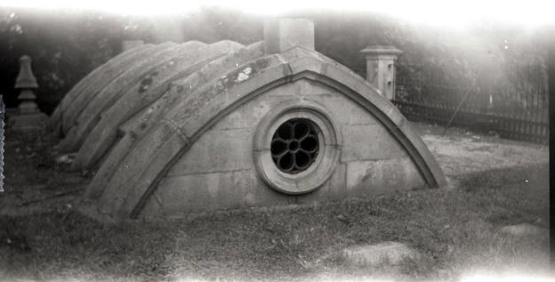 Victorian-era family vault at Hamilton Cemetery, Canada
