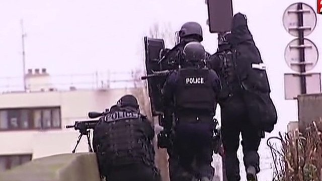 France attacks: Police storm supermarket