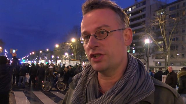France attacks: Local residents' reaction