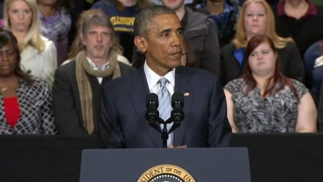President Obama speaking about Paris attacks while in Tennessee