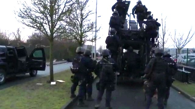 French special forces raid