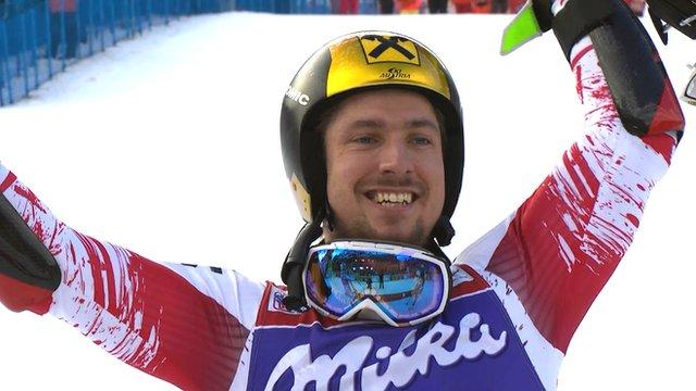 Marcel Hirscher of Austria