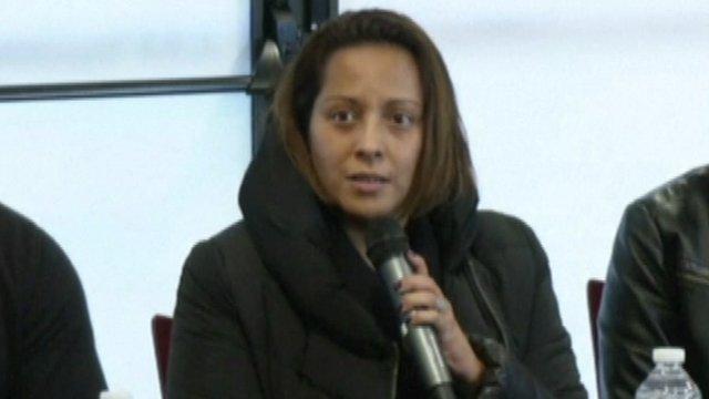 Ahmed Merabet's girlfriend