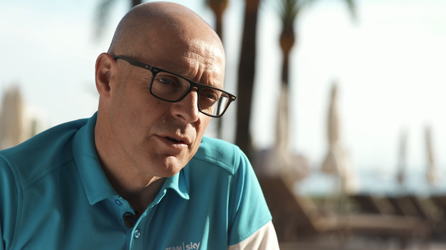 Team Sky boss Sir Dave Brailsford