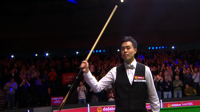 Masters 2015: Watch Marco Fu's 147 against Stuart Bingham
