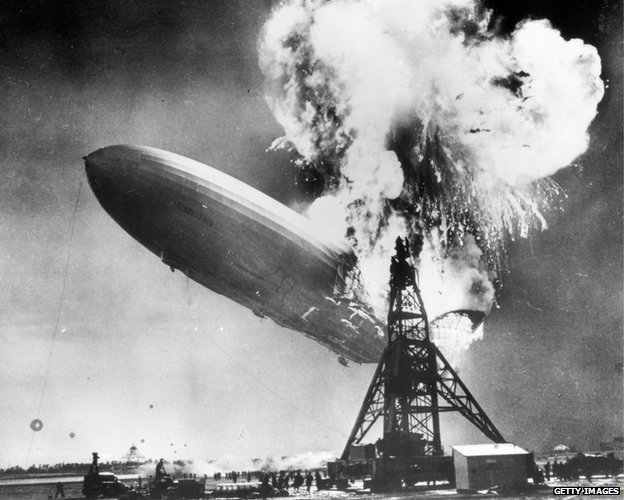 Hindenburg exploding whatever happened to the future? Whatever happened to the future?  80205975 hindenburgdisaster
