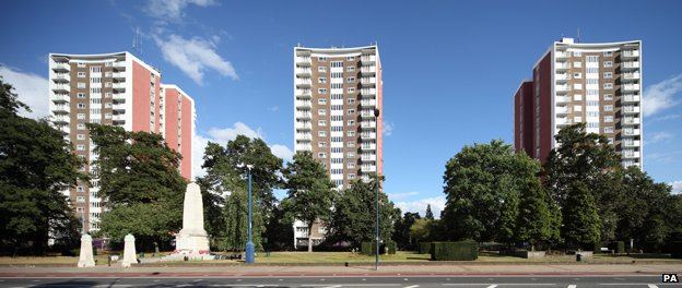 Housing association-owned flats in Lewisham, south London