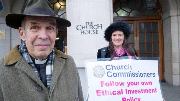 Rev Anthony Harvey and Victoria Harvey