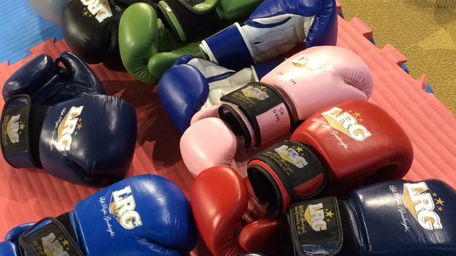 BBC Get Inspired: Boxing at the Active Academy